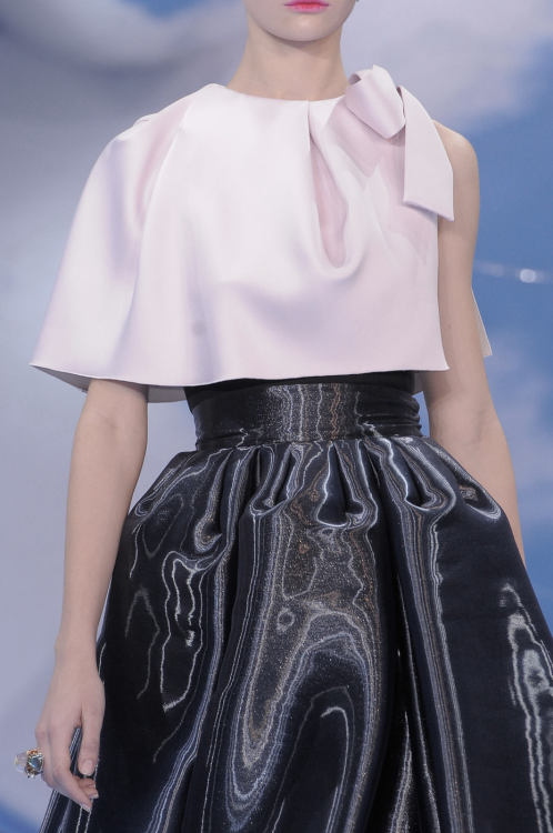 pivoslyakova:  Detail at Christian Dior | Fall 2013