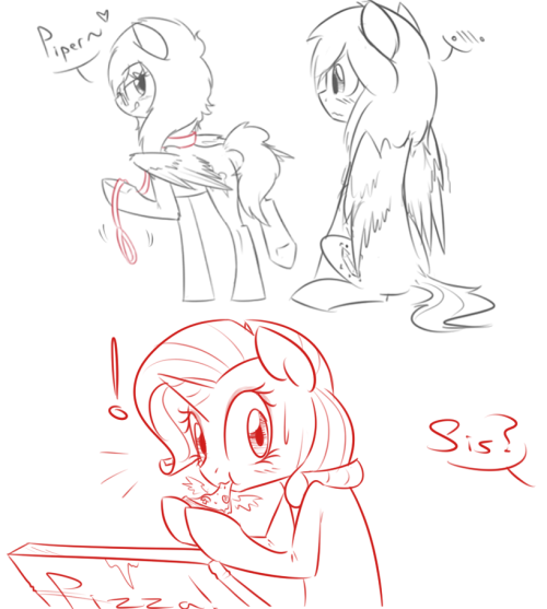 spiritcookie:  So the stream went pretty well. Did some things, drew some ponies and flustered a few people! It was a total success lol Oh and I did some request doodles!  >////< (reallywishingihadatabletrightnow)
