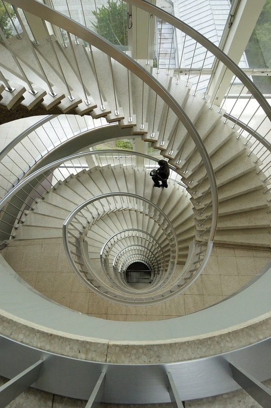 architecturia:  Charisma Arts Spiral staircase at