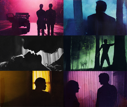 Silhouettes + Teen Wolf (asked by anon) [more]