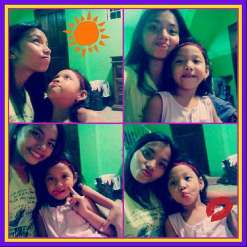 With Bienne #cousin #cute haha :))