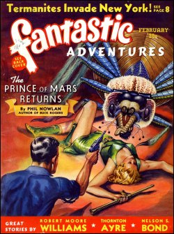 Fantastic Adventures, 1940