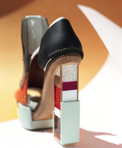 Zoe Ghertner photographs Nicolas Ghesquière's sculptural shoe designs for Balenciaga's Fall/Winter 2010 collection