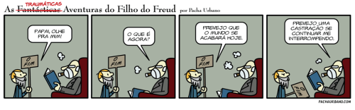 filhodofreud:   #045 Quem estiver interessado em comprar as canecas, entre em contato por [AQUI].Curta a nossa fanpage no Facebook: https://www.facebook.com/FilhoDoFreud[IN ENGLISH] Translation: Bárbara Porto[EN FRANÇAIS] Traduction: Dan Hassan