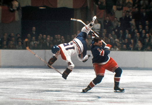 ughpsh:  Rangers vs. Canadiens, 1965