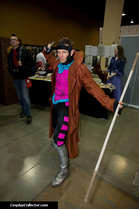 "dtjaaaam:  Gambit - Amazing Arizona Comic Con 2013 ""Kinetic Card!"""