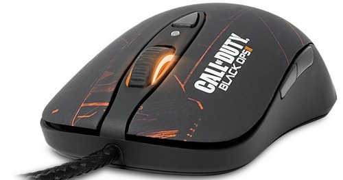 "SteelSeries Black Ops 2 Mouse Review By Owen Workman Let me preface this review by saying that my previous mouse before SteelSeries' was an old HP mouse from god knows what year- to give you a bearing on how old it is, it's still got a trackball. That alone should let you know how much of an improvement this mouse was for me. The SteelSeries Black Ops 2 mouse is a part of a group of SteelSeries game-related peripherals- we've reviewed some before. As we at VGN have come to expect, SteelSeries blows the doors off yet again. [[MORE]] The first thing I noticed about the Black Ops 2 mouse was how easily and naturally it fit in my hand. I have, since receiving the mouse, had gaming marathons with my friends that lasted 4-6 hours. Not once in that entire time did I feel any fatigue or aching in my hand, a common complaint I had with my old mouse and one that kept me from gaming for extended periods of time. It moves incredibly easily along most smooth-ish surfaces, thanks to how high-quality the sliders that SteelSeries makes are. I haven't had a very long time with the mouse so far, but the sliders also seem to be very durable- I've had many a time where a mousepad is nowhere to be found and I've had to do without, and there are nearly no markings on the sliders at all. The design is very well-done, a mixture of blacks and oranges across most of the mouse. The light-up logo is very tasteful- an orange ""II"" on the palm of the mouse, very simple and minimal. The background of the mouse design itself is very interesting as well; I've caught myself looking at the design on more than one occasion. The glow and cuts on the mouse give the impression of high-tech military equipment to give fans of the Call of Duty series a reminder of Black Ops 2's feel and atmosphere. In the approximate month that I've had this mouse, I haven't found a single drawback to it. Its superior movement capabilities make it easy to navigate one's screen with amazing precision, and the weight it carries makes the user feel as if they were holding something with real substance to it. SteelSeries has earned their keep once more."