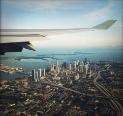 travelingcolors:  Flying over Miami | Florida (by dannyone)