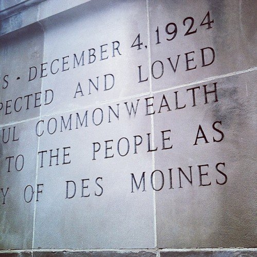#Des_Moines (at Des Moines Art Center)