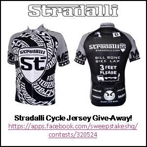 Enter the Stradalli Cycle Jersey Give-Away…only 4 days left!!