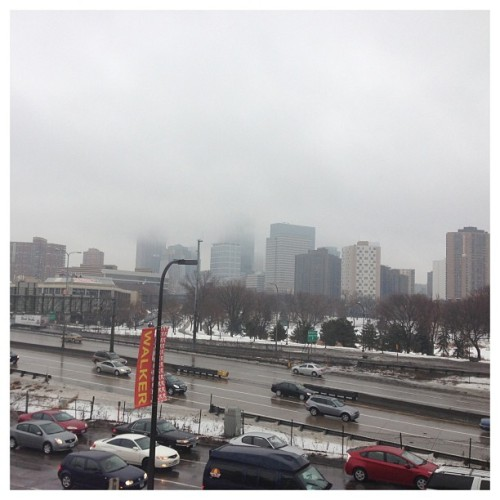 #minneapolis in a foggy soup