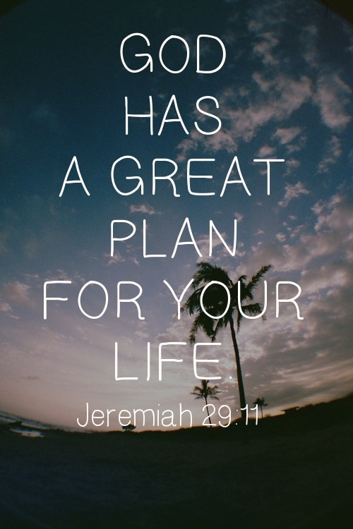 "spiritualinspiration:  For I know the thoughts and plans I have for you…to give you hope in your final outcome Jeremiah 29:11, AMP.  God desires to see you flourish in this life. He wants to see you come out of setbacks stronger, wiser, increased and promoted. He wants to give you hope in your final outcome and see you come to a flourishing finish.  When my father died unexpectedly, all in our family was not well. We didn't know how everything was going to turn out. We didn't have all the answers, but we understood the principle that God never ends on a negative. Instead of getting stuck on that page, we just kept moving forward little by little, doing our best, being faithful, being good to people. When I look out today, I can see the faithfulness of God. I can say like David, ""Look what the Lord has done!""  Remember, when you encounter adversity, know that God isn't finished yet. He never ends on a negative. He has more in store for you if you will keep pressing forward. Don't let your thoughts get stuck on the circumstances. Instead, lift up your eyes to Jesus, the Author and Finisher of your faith. Trust that He is working behind the scenes on your behalf, and He will lead you into a flourishing finish!"