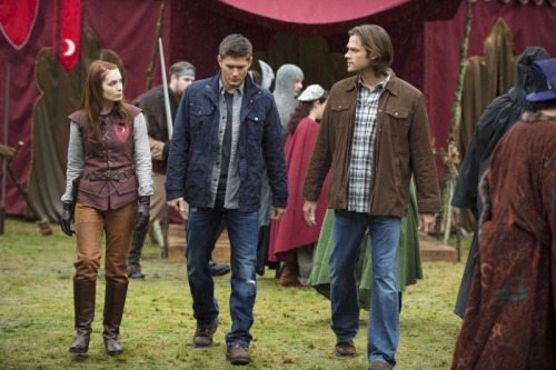 Supernatural Scoop: Felicia Day Books Third Visit @TVLineNews