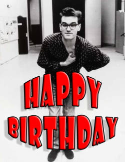 Today, 05/22/13, is Moz' 54th birthday.