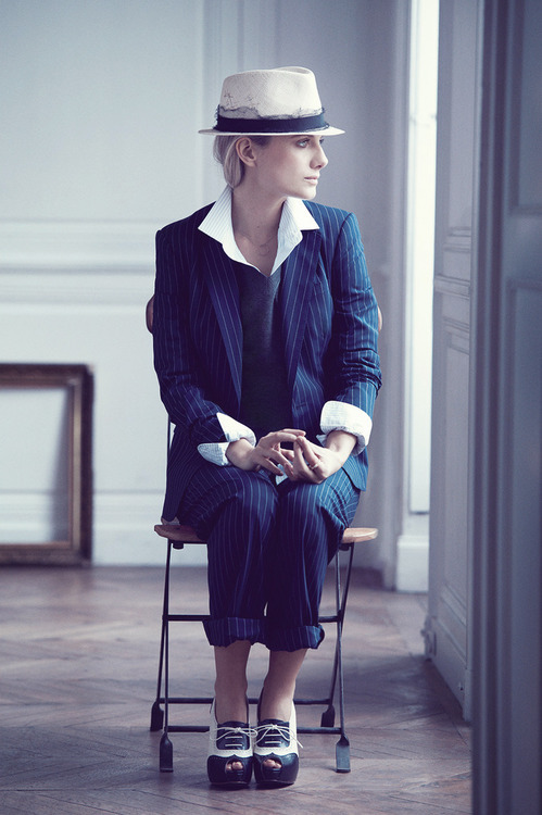 Melanie Laurent for InStyle US - June 2013