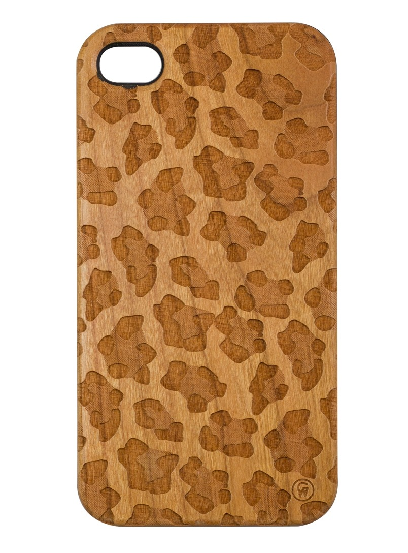 Good Wood NYC Leopard iPhone 4/5 Case Its all about Leopard print right now.  Cop this trendy case for your iPhone 4/4S or 5 from Good Wood for $35 on their online store.