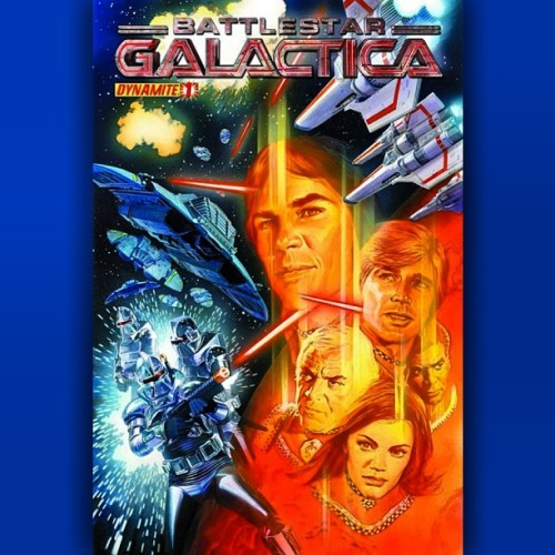 #BattlestarGalactica #1 #Dynamite #Comics #AlexRoss   MEMORIAL: Part 1! 2013 marks the #35thanniversary of the #original #Battlestar #Galactica TV series and to celebrate Dynamite is launching a brand new series, written by #cosmic supremos, #DanAbnett & #AndyLanning (#Legion, #Nova, #GuardiansoftheGalaxy)! Set in classic #BSG continuity, this series celebrates 35 years of #epic #space #opera when, following a surprise #Cylon attack, #Adama and the crew of the #Galactica are forced to deploy #DrZee's experimental #temporal #weapons with unexpected results that leave #Apollo and #Starbuck (not the over priced coffee) lost in time and space in an alternate reality with no Galactica and no way of returning home! #ComicBooks #Scifi #comicbooklegion #talkcomics #syfy #nerd #geek