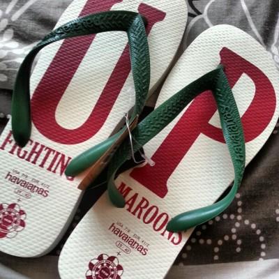 Finally :) #UP #havaianas #philippines #UAAP #2012