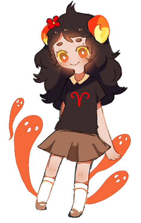 spooky girl