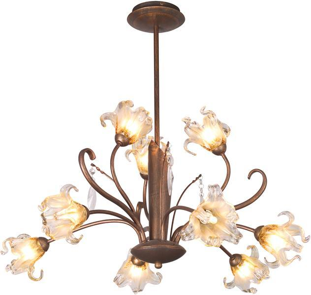 Product of the Week - ET2 Lighting E22064-26 Bloom 9-Light ChandelierReturn to the days of yesteryear. Bloom is proof positive that elegance can be achieved on a budget. Highly decorative in nature, the historic Galle feel provides the perfect dining-room center piece. The elegant floral glass shades and hanging crystal teardrops whisper hints of heirlooms and the treasures of a bygone era. An amazing metallic finish of either bronze patina or antique Flemish copper adds elegance to the gently curving stems that support both crystal and lamp. Also, all Maxim and ET2 products are 15% off. For each Maxim lighting order, EliteFixtures.com will donate $5 to autism speaks! Visit http://www.elitefixtures.com/index.cfm/autismspeaks.html for details. To view the chandelier click here