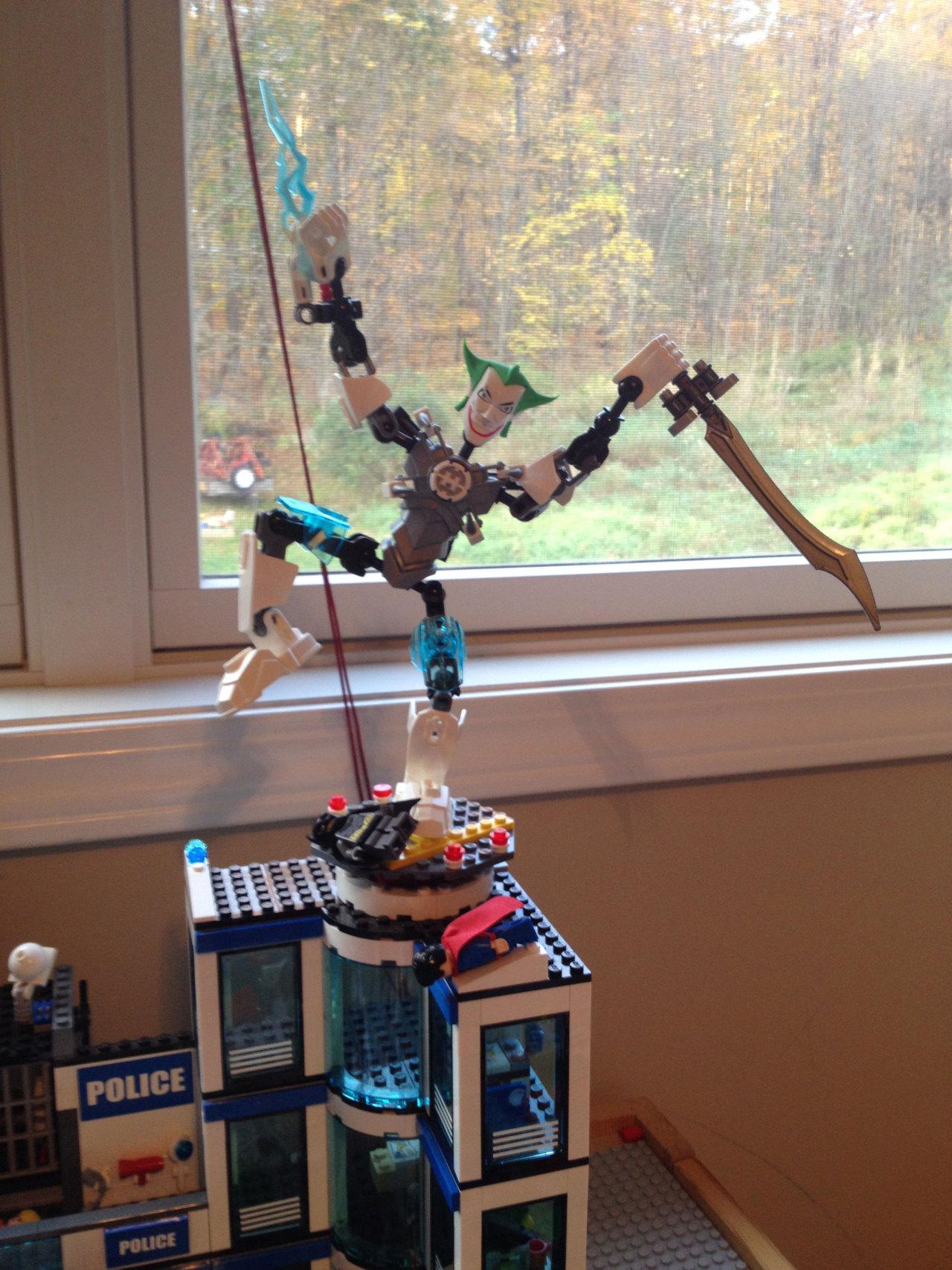 I used my cousins' legos to create something beautiful
