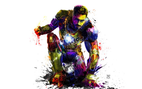 arsetculture:  Iron Man Pop by ~PootPoster