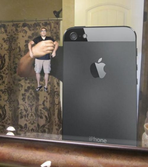 collegehumor:  iPhone Takes a Selfie Is that the iHuman 4 or 4s?