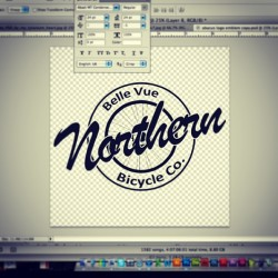 Finally settled on this for my logo. #logo #branding #bicycle #graphicdesign #design #bike