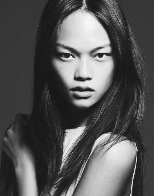 "In Development: Jen Dau So you thought those modeling schools and ""training programs"" were bogus? So did we! That was until we read that the beautiful Jen Dau, recently signed as a new face at New York Models, is a graduate of Barbizon (yes,the same Barbizon you've heard of since you were a kid). With the recent — and well-deserved — explosion of Asian models over the last few years, we expect Jen Dau will follow in the footsteps of Xiao Wen Ju, Sui He, and Soo Joo Park, each carving out their own path in the competitive world of high fashion. (Photo courtesy of New York Models. Text by Jenny Bahn)"