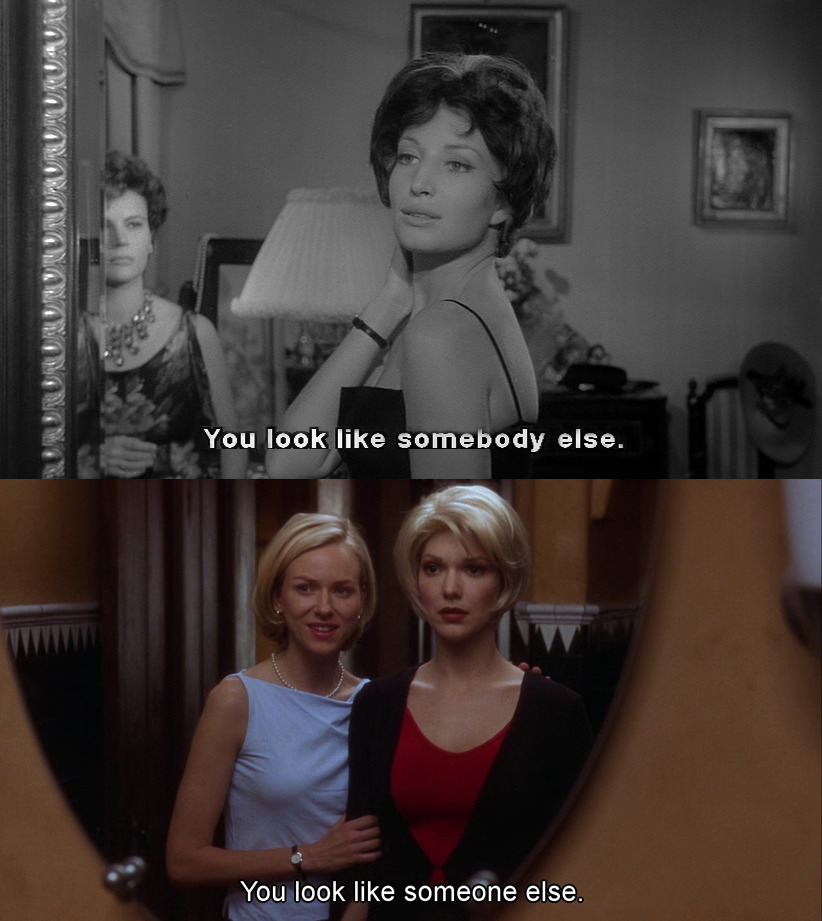 cinemaissatanschurch:  L'AvventuraMichelangelo Antonioni1960 Mulholland Drive David Lynch 2001