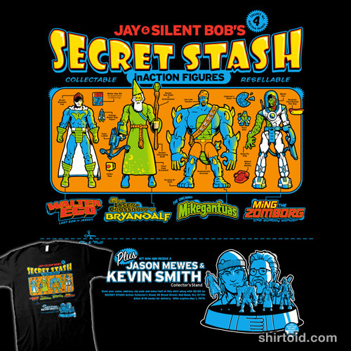 Inaction Figures by Captain RibMan is $10 today only (3/5) at Shirt Punch