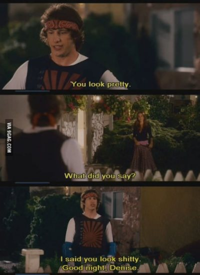9gag:  Me when talking to girls
