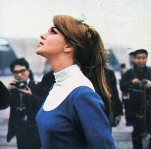 ladiesofthe60s:  Ann-Margret in Japan, 1965.