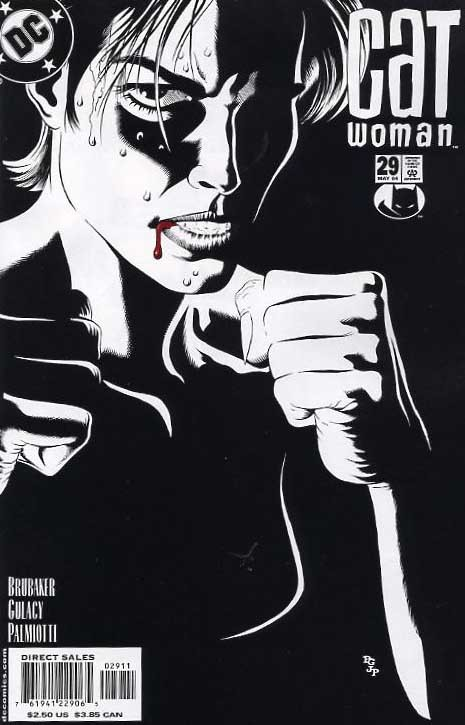 Catwoman v3 #29, May 2004, written by Ed Brubaker, penciled by Paul Gulacy