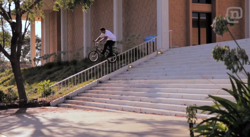 Jourdan Barba's part from The Hunt BMX movie!