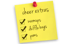 yourcheerleadingblog:   The Cheer Gear Extras You Need To Complete Your Look