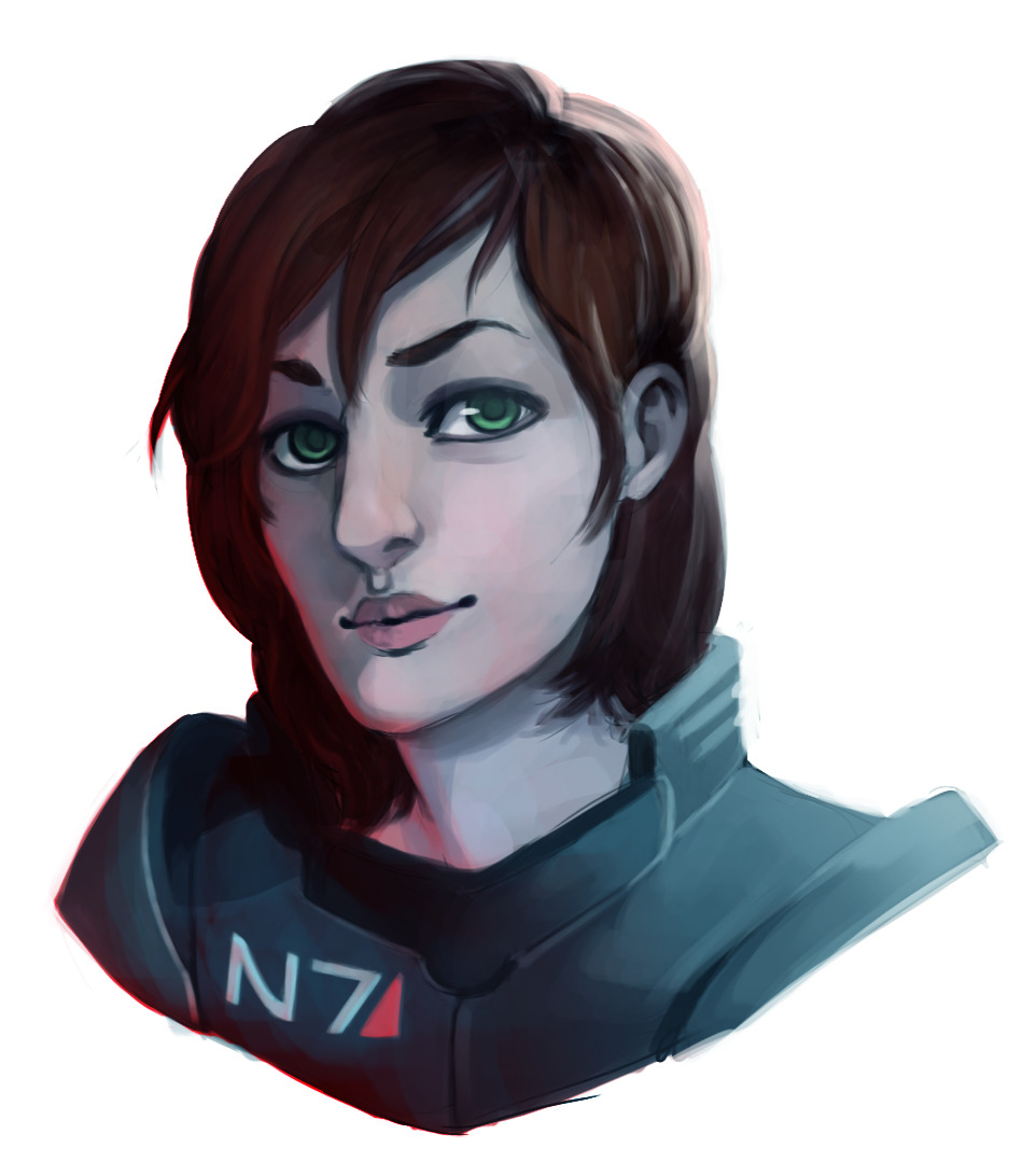 Commander Shepard commission for StarbuckViper! Always a pleasure in drawing Shepard~   Commission Information can be found here as well as on My Tumblr If you're interested in a commission you can note me through my Deviantart or through my email: racommissions@gmail.com