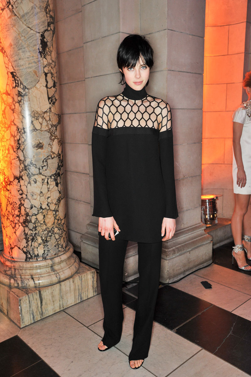 Mr. Blasberg's Best Dressed: Edie Campbell in Gucci Photo credit: Getty Images