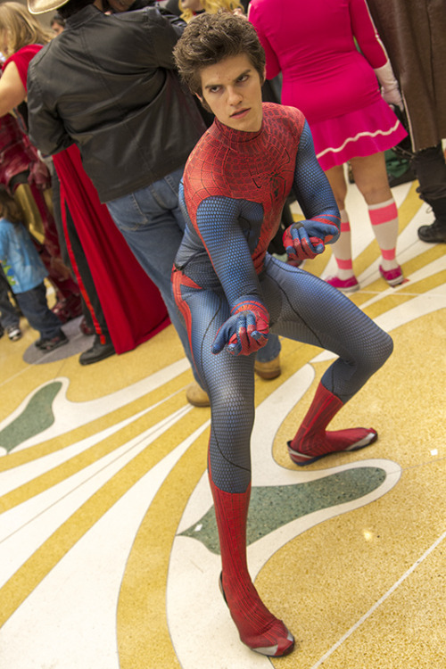 cosplaynaut:  The Amazing Spider-Man, unmasked! (by Amy Wuertz)  Holy…..!