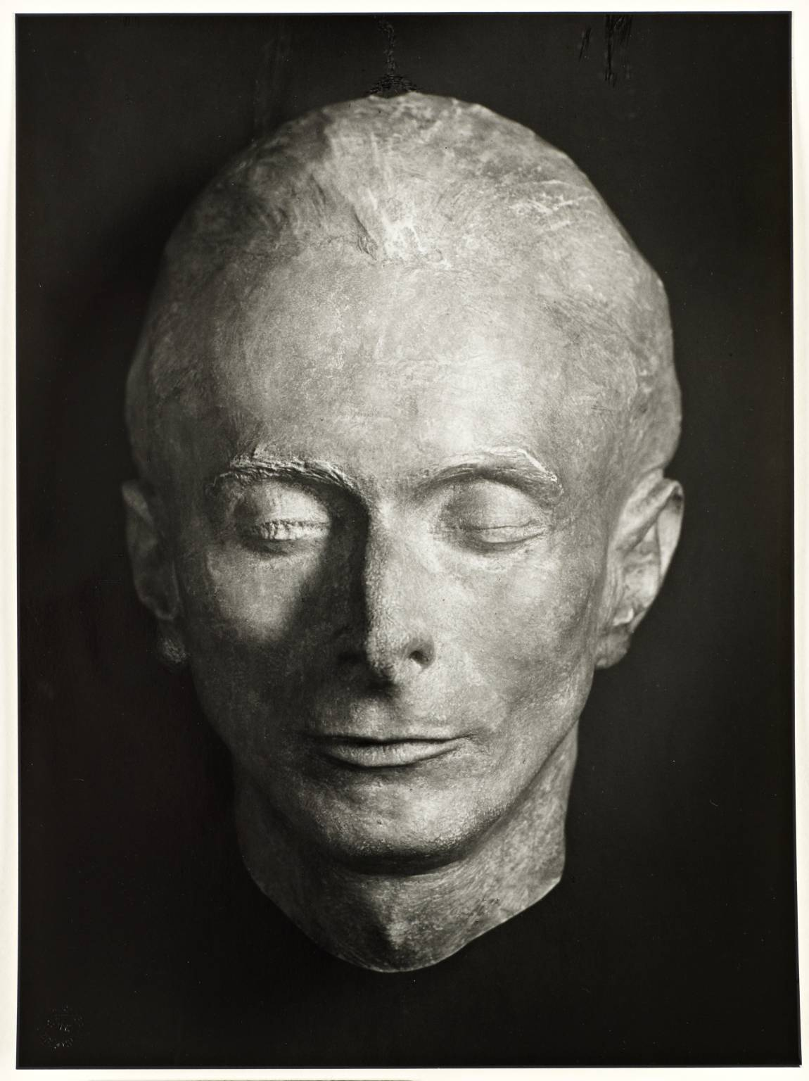 Death Mask of Erich Sander by August Sander