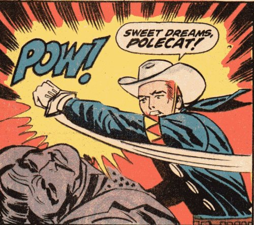 (via Slay, Monstrobot of the Deep!!: Manic Monday—The Rawhide Kid's Iron Law Of Marvel Bad Guys)