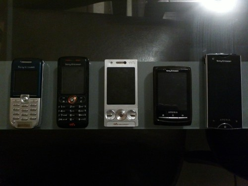 Mini sony evolution