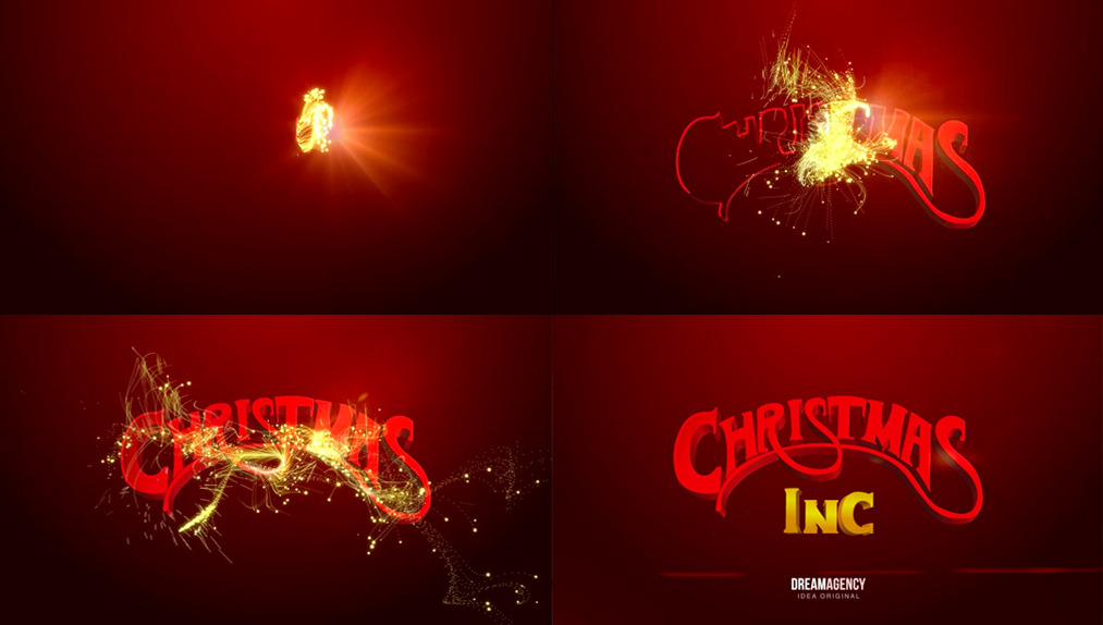 INTRO CHRISTMAS INC Dream Agency Motion Designer: Jorge BanderaAll right reserved