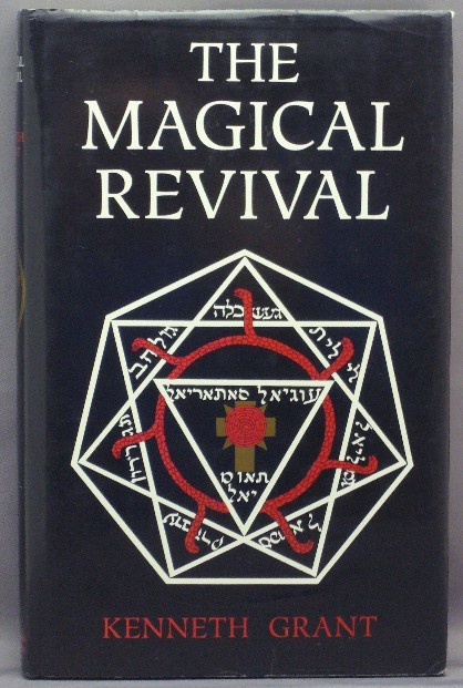 "thekelayahobjective:  Kenneth Grant's first book ""The Magical Revival"" is considered even by his opposers to be his most ""lucid"" book. It was the first in Grant's Typhonian Trilogy first published in 1972 in which he outlined similarities between Aleister Crowley and Austin Osman Spare's magick with Lovecraft's mythology. Historians and ockultists opposing Grant have called his theories preposterous. Other groups have called Grant as a magus heralding a new aeon, syncretising the works of his former masters, Crowley and Spare, with Lovecraftian mythos and beyond. Throughout the world now there are groups that practice chaos-gnostic magick, Vedic and Vodoun worship along with more known Western Judeo-Christian Kabbalistic practices. To a large extent we owe a lot to Grant for his the explorations of the Qliphoth for magickal Draconian groups today build upon his writings. Not since medieval Rabbis has there been a man willing to crawl in the unknown qliphotic sludge for the benefit of himself and others. Download the book HERE, but be sure to buy it."