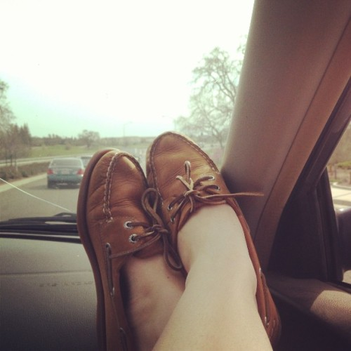 Listening to Miranda and cruising in the sunshine! #MirandaLambert #sperry #cali  (at Roseville, CA)