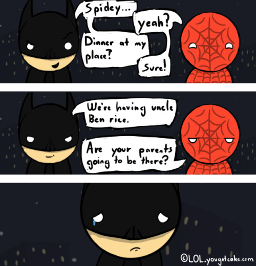 iwenttohogwartsviathetardis:  Batman vs Spider-Man