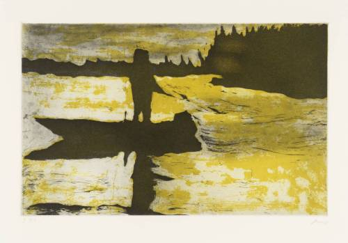 Peter DoigLunker (from Grasshopper)1997etching