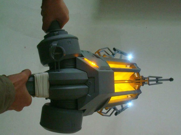After the success of the replica Portal Guns, the same manufacturers, NECA, are set to release the The Zero Point Energy Field Manipulator (ZPEFM) from Half-Life 2. Commonly known as the Gravity Gun, the ZPEFM will be up for pre-orders soon. The replica will be out in 2013.