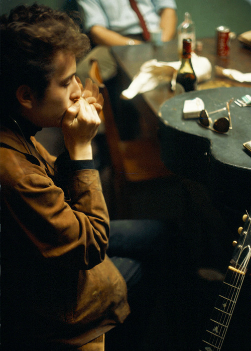 Bob Dylan photographed by John Launois, 1966