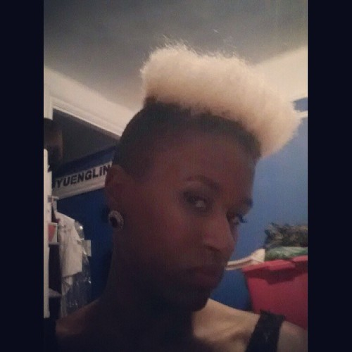 High hair, don't care… #hair #blonde #hightop #fade #sex #Illuminati